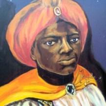 tableau portrait d'un roi mage