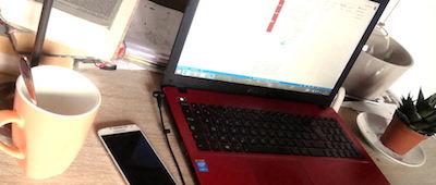 ordinateur sur bureaumanuelajoé