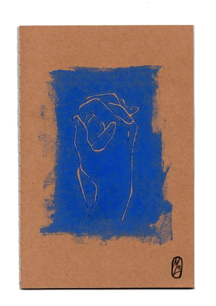 Manuela Luchtmeijer - carnet mains bleu