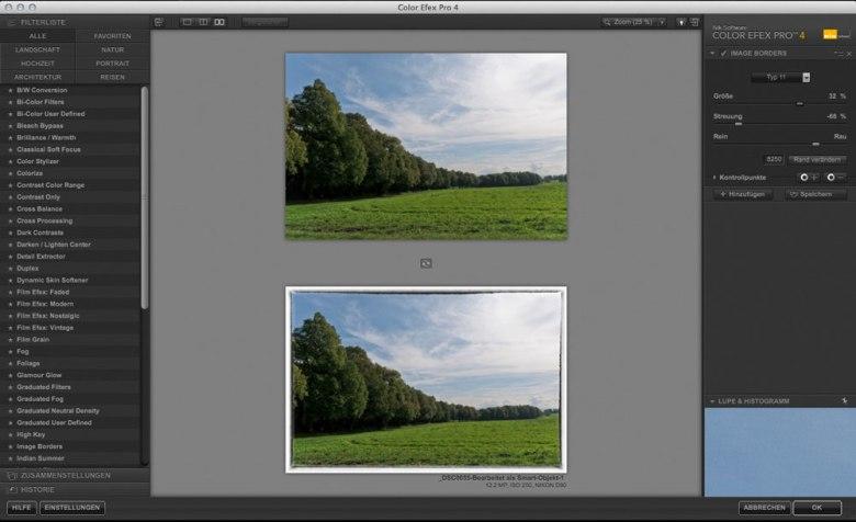 Color Efex Pro 4 Image Borders
