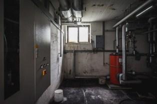 Verlassenes Klinikgelände