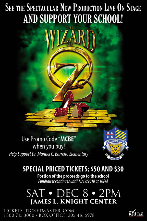Wizard of Oz flyer