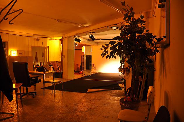 Laïla, Gesamtansicht Werkstatt 14a