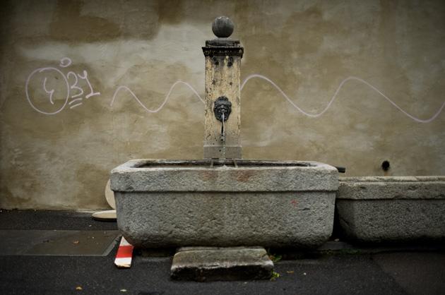 Brunnen im Berner Mattequartier