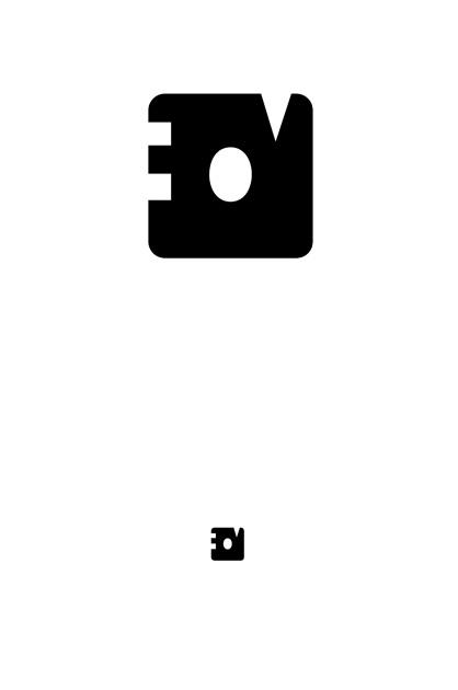 EOVessels – zweiter Entwurf, Viereck mit den Innenräumen der drei Buchstaben EOV