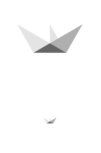 EOVessels – zweiter Entwurf, Papierboot