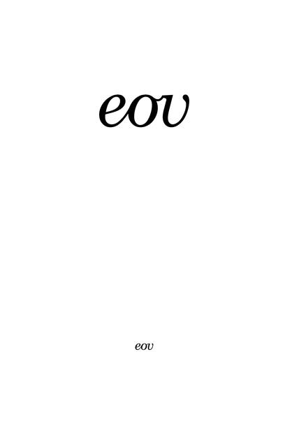EOVessels – fünfter Entwurf, Schriftzug