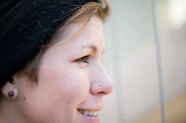 Portrait-Fotografie Detailaufnahme der Augenpartie