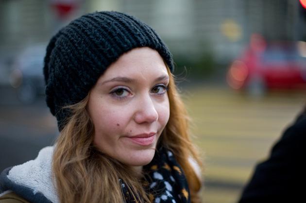 Schnappschuss – Portrait bei der kleinen Schanze in Bern