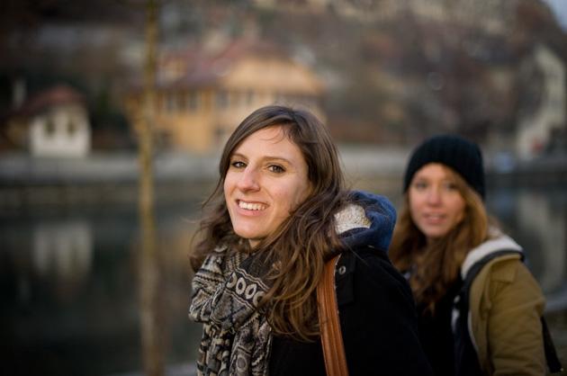 Portrait unter der Kirchenfeldbrücke