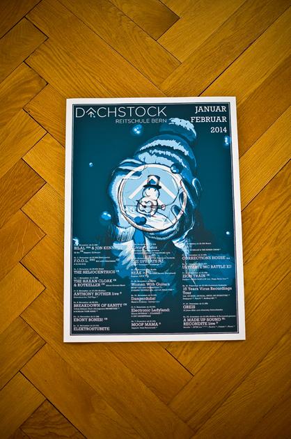 Das fertige Monatsplakat, cover Print