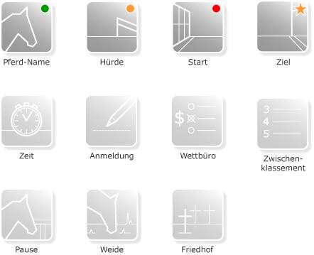 Ausbaubarkeit der Icons mit Zusatzfunktionen