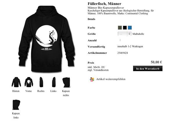 Pullover Fuellerfisch, Herren