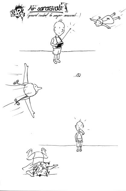 Comic – Air Sarasvati