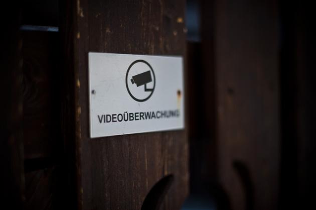 Schild Videoüberwachung