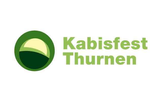 Logo-Design Kabisfest Thurnen, Vorschlag 2 mit einem abstrahierten, grafischen Kabis.