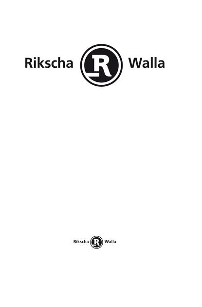 Corporate-Design Rikscha Walla; grafischer Entwurf