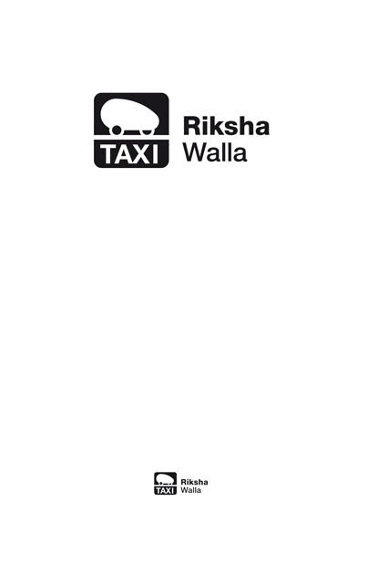 Logo Rikscha Walla - Taxischild