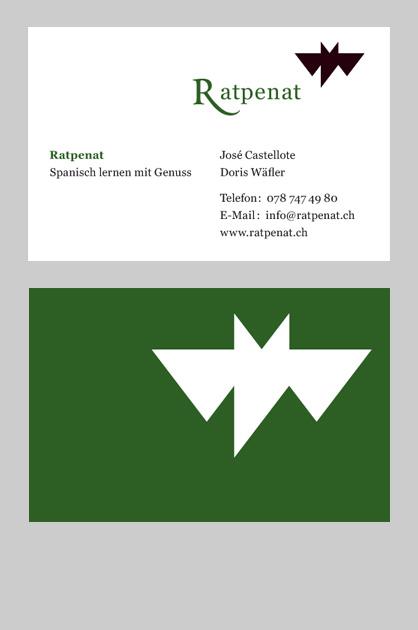 Visitenkarte Ratpenat