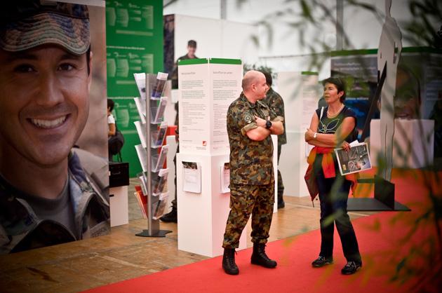 Der Bereich über Militärische Berufe