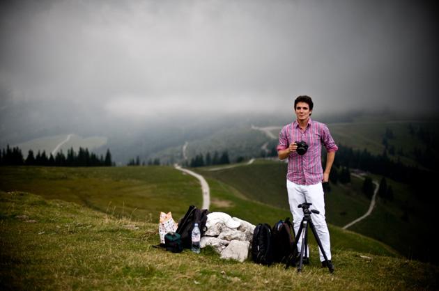 Kurzfilm – Mountain, David auf dem Gurnigel