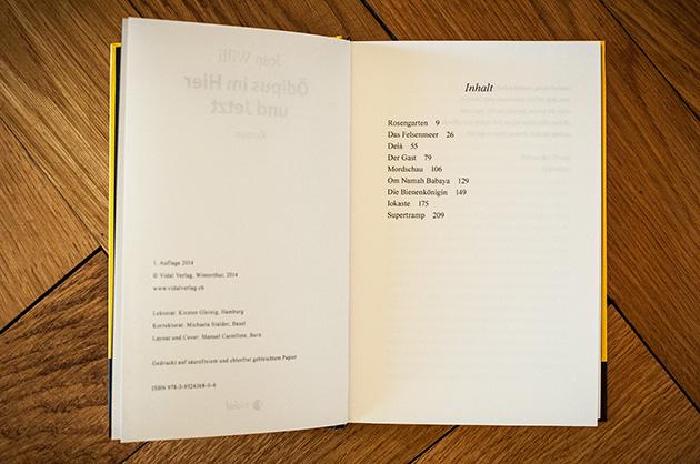 Ödipus im Hier und Jetzt – Inhaltsverzeichnis