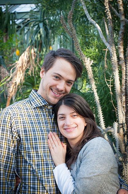 Foto für eine Hochzeitskarte