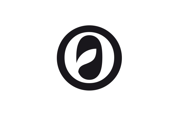 Bildmarke mit einem «O», aus dem ein Blatt wächst.