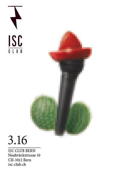 Plakatwettbewerb fürs ISC – Flyer-Sujet Tequila Boys