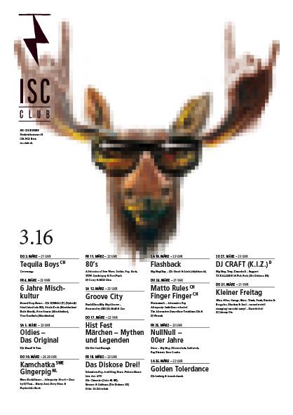 ISC-Plakatwettbewerb mit dem Sujet der Band Kamchatka