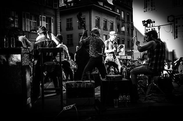Buskers in Bern – Die bretonische Band Fatras in Aktion