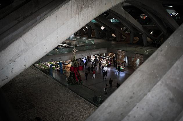 Alte Expo-Gelände Lissabon, Bahnhof Oriente