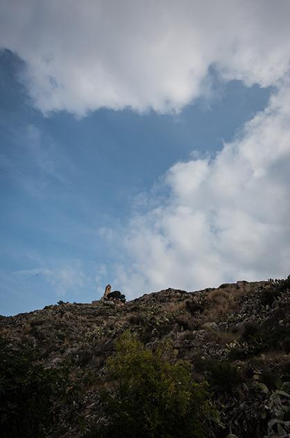 Eine Kirche von Cullera auf dem Dorfberg. Nikon D810, 20mm/1.8