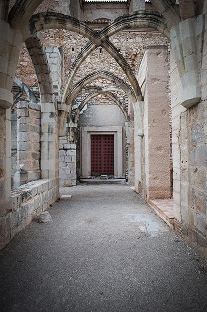 Kloster Santa María de la Valldigna, ein Teil des alten Kruezganges. Nikon D810, 20mm/1.8