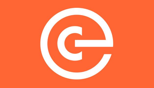 Beitragsbild clever schulen und beraten – das finale Logo. Weiss auf einem orangen Hintergrund.
