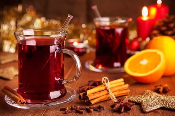Pour Noël du Vin chaud aux épices