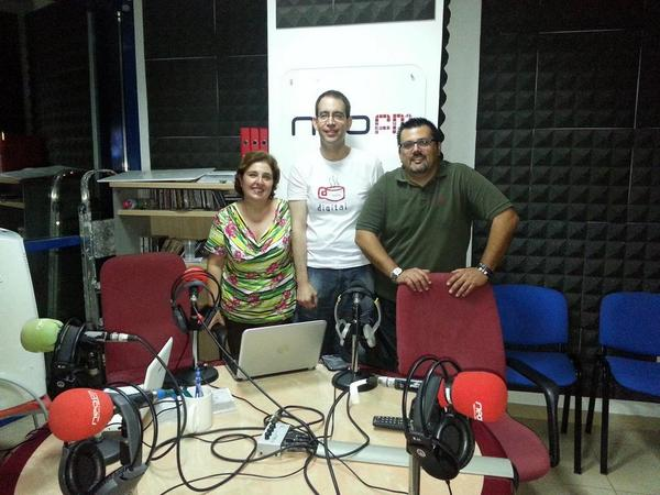 DetrásDeLaArroba con Lucia Montero Manuel Miranda y Pedro P Fuentes Café Digital