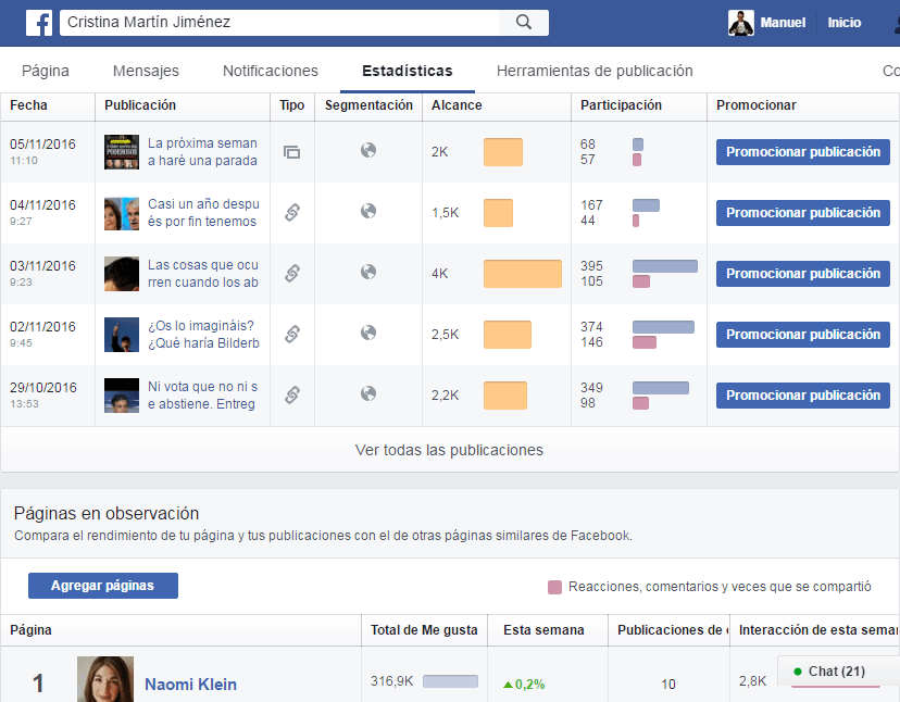 como conocer el perfil de tus lectores de facebook si eres escritor 2