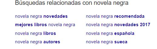 novela negra Buscar con Google