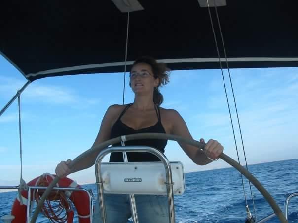 Entrevista a Andrea Golden escritora barco