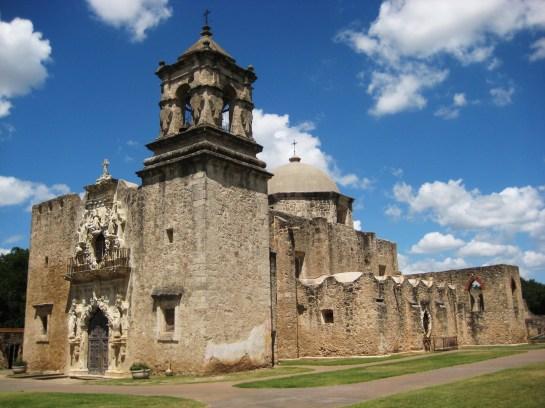 Antigua misión de San José, en las afueras de la ciudad de San Antonio.