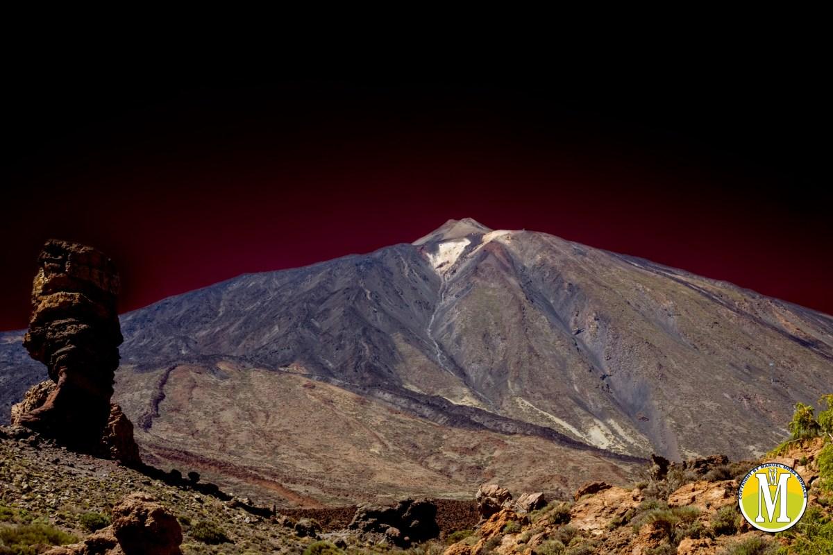 El volcán Teide se hunde
