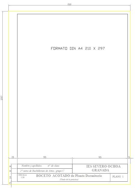 Formato Normalizado DIN A4  manuelprofesordeproyectos