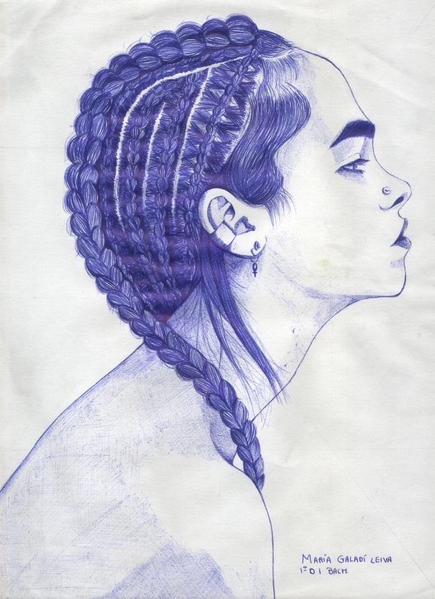 Mara Galad Dibujo a bolgrafo