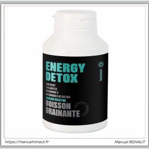 Beautysane energy detox - boisson drainante fabriquée en France par Beautysané - saveur menthe (édition limitée)