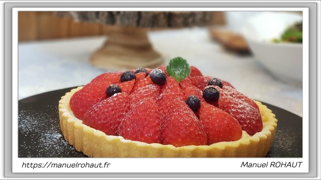 Recette Beautysane© délicieuse tartelettes aux fraises gariguette de Plougastel (Bretagne - Finistère - France)