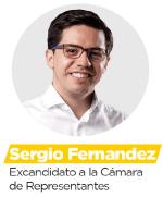 Sergio Fernández - Excandidato a la cámara de representantes