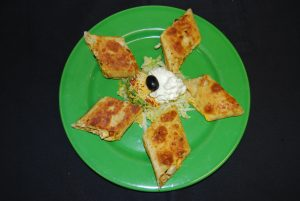 Rolled Quesadilla Dinner
