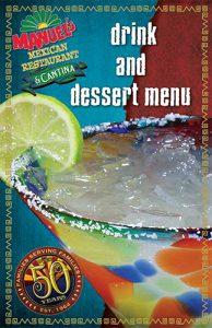 Drink & Dessert Menu