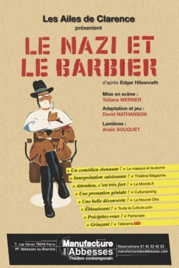 Le Nazi Et Le Barbier : barbier, Barbier, Manufacture, Abbesses